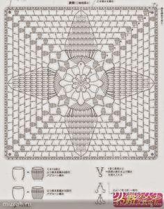 Patrones de cobertores de sillas tejidos al crochet   Crochet y Dos agujas - Patrones de tejido