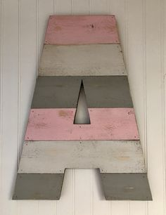 """We make rustic letters from repurposed wood.  They may be purchased in 12"""", 16"""" & 20"""" heights.  A perfect gift!  Pick you paint colors from our Dixie Belle Mineral Chalk Paint line!"""