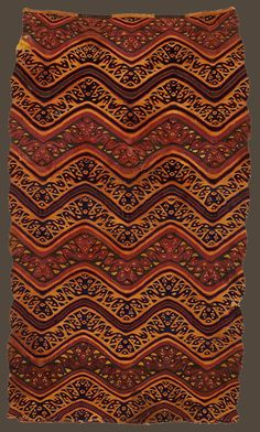 Rectangle, Late Ica style, Peru, Ica Valley, The Textile Museum acquired by George Hewitt Myers in 1932 Textile Museum, Textile Art, Peru Culture, Cultural Patterns, Peruvian Textiles, Medieval Jewelry, Inca, Kilims, Textile Patterns