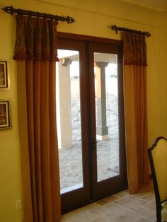 Bust of Choose the Right Window Treatment to Make Your French Door Looks More than Marvelous