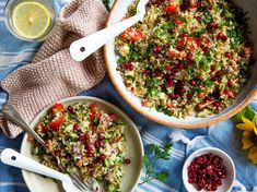 Mediterranean Freekeh Salad - Viva