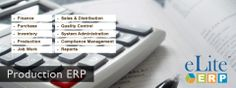 eLiteERP is a smart windows based ERP solution primarily designed for Micro and Small enterprises looking for a cost effective solution which can enable them to quickly move away from current manual processes to a fully integrated business solution.