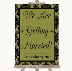 Mint Green Watercolour Lights Let Love Glow Glowstick Personalised Wedding Sign