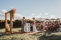 Stylish Indie Karoo Wedding in Matjiesfontein by Hewitt Wright Indie, Aisle Style, Wedding Ceremony Decorations, Getting Married, Real Weddings, Dolores Park, Trends, Stylish, Collaboration