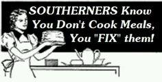 """Ex: """"I'm boutta fix dinner"""""""