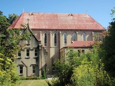 Another view of Erskine College (not a college anymore) in Island Bay, Wellington, New Zealand