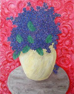 Digital item The Violets still life after original by AtelierHayat