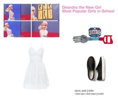 Deandra the New Girl by fandom-fashionss on Polyvore featuring polyvore, fashion, style, Bebe, Wild & Wolf and clothing