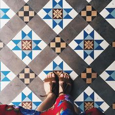 Thian Hock Keng Temple, office of Singapores Hokkien clan and home to some sweet looking tiles. #vscocam #sgvsco #SGsurfacestories #exploresingapore #matterprints #exploresg #ihavethisthingwithfloors #igsg #sgig