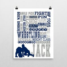wrestling gifts wrestlers wall hanging wrestling print wrestling room decor boys wrestling. beautiful ideas. Home Design Ideas