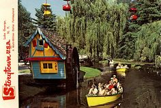 1960s Storytown USA Lake George New York ADIRONDACKS