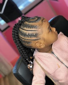 # fancy Braids for kids Hairstyles: Gorgeous Christmas Braiding styles for Kids - Naija's Daily Box Braids Hairstyles, Lil Girl Hairstyles, Black Kids Hairstyles, Cute Braided Hairstyles, Gorgeous Hairstyles, Children Hairstyles, Toddler Hairstyles, Holiday Hairstyles, Hairstyles 2018
