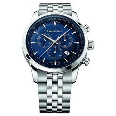 435eur: LOUIS ERARD HOMME 42MM CHRONOGRAPHE DATE SAPHIR VERRE MONTRE 13900AA05.BMA38 | Jewellery & Watches, Watches, Parts & Accessories, Wristwatches | eBay!