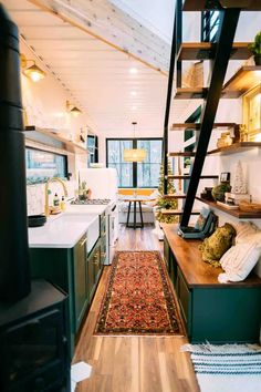 Shipping Container Interior, Shipping Container Homes, Shipping Containers, Shipping Container Conversions, Ohio, Tiny Houses For Rent, Tiny House On Wheels, Design A Space, Cabin Interiors