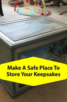 Storing baby keepsakes in a chest Fun Crafts, Diy And Crafts, How To Make Something, Old Time Pottery, Newborn Diapers, Beach Room, Safe Place, Room Themes, Keepsakes
