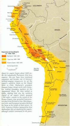 Inca Civilization -The Incan Empire at the time of the landing of Pizzaro