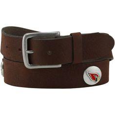Arizona Cardinals Vintage Leather Belt - Brown - $25.99