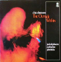 """Chico Freeman:tenor saxophone, bass, clarinet Jack DeJonette: drums Cecil McBee: bass John Hicks: piano """"The Outside Within"""" INDIA NavigationIN1042 Trio Records reproduction PAP-25017"""