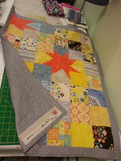Wonky Star (inspired by Big Wonky Star in Missouri Quilt Company Fall 2015 Block Magazine)