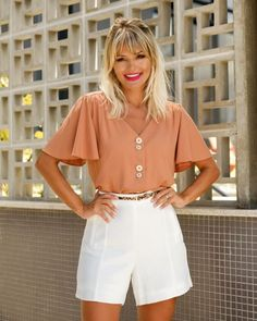 Discover the best in Best Sellers. Find the top 100 most popular items in Liar Clothing Best Sellers. Short Outfits, Summer Outfits, Short Dresses, Casual Outfits, Fashion Outfits, Formal Shorts, Look Con Short, Moda Chic, Womens Fashion For Work