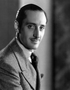 Basil Rathbone. Exquisite tailoring and grooming.