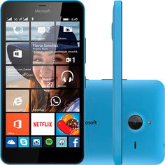 (Americanas.com) Smartphone Microsoft Lumia 640 XL Dual Chip Desbloqueado Windows Phone 8.1 Tela 5.7 ´ 8GB 3G Câmera 13MP - Azul por R$…