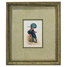 Check out this item at One Kings Lane! Bird Dressed as Gentleman Engraving
