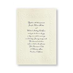 Queen Victoria Wedding Invitations-$80 $60 %40off