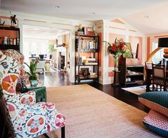 From the Archive: A Colorful Hamptons Getaway