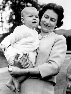 BABY NO. 3  When the queen's third child, Prince Andrew, was born on Feb. 19, 1960, she became the first British monarch to give birth during her reign since Queen Victoria a century before her.