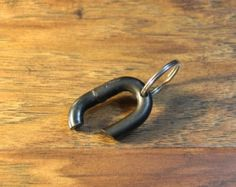 key chain chain link bottle opener by TheMachineShoppe on Etsy