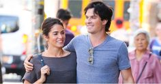 Nikki Reed and Ian Somerhalder were spotted doing some shopping on Wednesday…