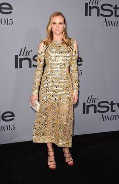 Pin for Later: Les Célébrités Ont Mis le Feu au Tapis Rouge Lors des InStyle Awards Diane Kruger