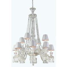Majestic 12 Light Crystal Chandelier - http://chandelierspot.com/majestic-12-light-crystal-chandelier-604566122/
