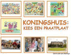 Koningshuis: 7 verschillende praatplaten over ons Koningshuis.    http://leermiddel.digischool.nl/po/leermiddel/6024759bb9da981e4693a512e5b7c161