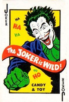 Joker trading card