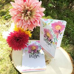Live in Bloom Free Download Planner Page