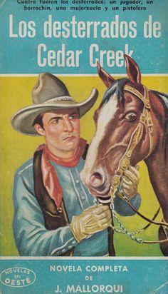 Los desterrados de Cedar Creek. Ed. Cliper, 1959 (Col. Novelas del Oeste ; 67)