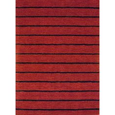 Indo Hand-tufted Tibetan Red Wool Rug (6'6 x 4'8) Today $119.99