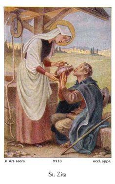 27 april: H. Zita van Lucca (1218-1272), patroonheilige van dienstpersoneel en aan te roepen bij verloren sleutels. Catholic Kids, Catholic Saints, Roman Catholic, St Rose Of Lima, Saint Philomena, Mama Mary, Christian Families, Mary And Martha, April 27