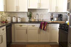 White Kitchen-modern eclectic @StellyandOscar
