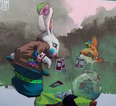 Etam Cru #streetart #rexmonkey http://www.rexmonkey.com/street_artists/etam-cru/
