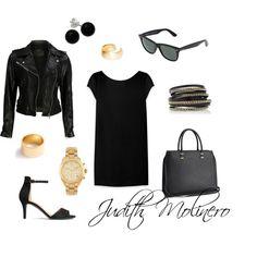 Little black dress by judith-molinero-fashion on Polyvore featuring Yves Saint Laurent, VIPARO, H&M, LK Designs, Michael Kors, J.Crew, Bridge Jewelry, Dutch Basics and Ray-Ban