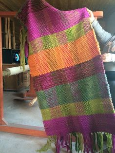 Weaving, Plaid, Blanket, Rugs, Knitting, Crochet, Blue, Weaving Looms, Ponchos