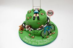 Cake for a cyclist? Made by Beautiful Birthday Cakes, Bath