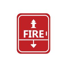 pompieri-segnale-fuoco-wall-sticker-adesivo-da-muro.jpg (1500×1500)
