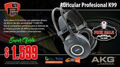 La Púa San Miguel: PICK SALE - Auricular Profesional AKG K99 Grabació...