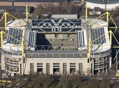 Westfalenstadion, photographed by Hans Blossey