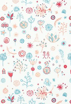 Lollipop Schumacher Fabric