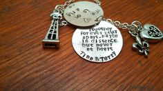 Handstamped Oil Rig Oilfield necklace My by ByalittlebitofFaith, $42.00